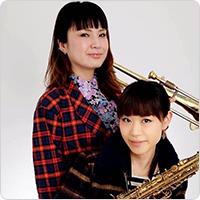 MeltingColor(湯浅佳代子(Tb)、横山知子(Sax))