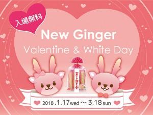 【1月17日~3月18日】ニュージンジャー・バレンタイン&ホワイトデー