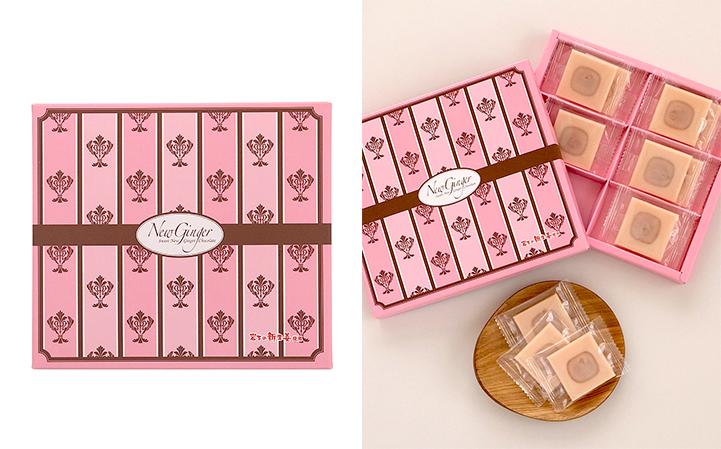 「Sweet New Ginger Chocolate」商品パッケージとイメージ