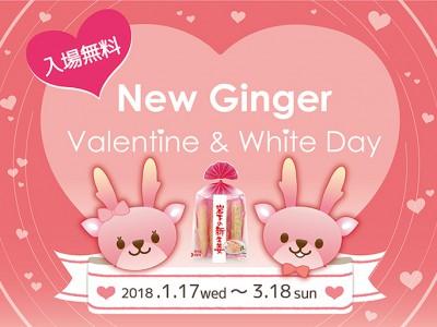 画像:NEW GINGER Valentine & White Day」イベントタイトル