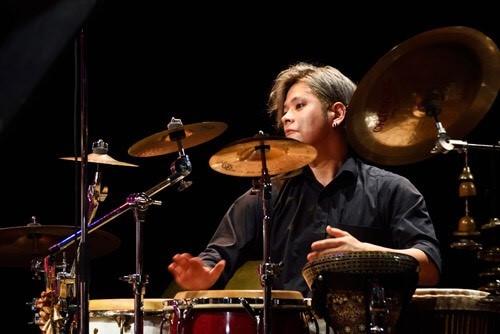 画像:福岡高次(Percussion )