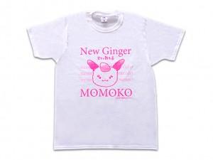 画像:シンショウガ☆モモコ Tシャツ