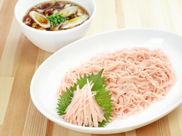 画像:岩下の新生姜生そうめん~桜山豚の温つけ汁 with 新生姜~