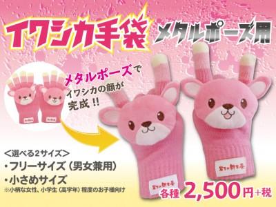 画像:イワシカ手袋 メタルポーズ用