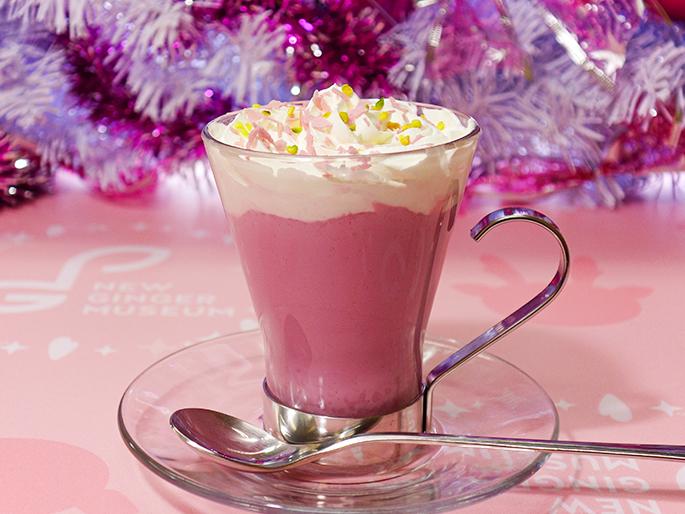 画像:ピンクジンジャーホットチョコレート(イメージ)