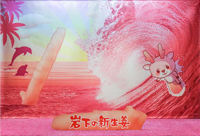 画像:PINK GINGER BIG WAVE